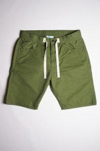 EZ Shorts,Cotton Linen Karsey,Olive