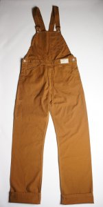 BIB & BRACE OVERALLS(COGNAC)<img class='new_mark_img2' src='//img.shop-pro.jp/img/new/icons9.gif' style='border:none;display:inline;margin:0px;padding:0px;width:auto;' />