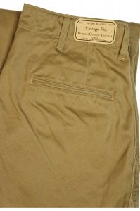 Workers Officer Trousers Vintage Type2 USMC Khaki