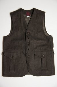 Cruiser Vest Melton, Brown
