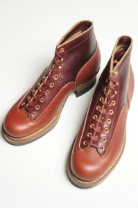 Lineman Boots(Football×CHXL Burgundy)