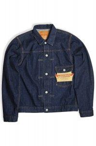 1st Type Jacket, 13.75 Oz Raw Denim