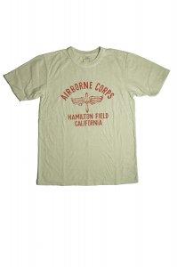 AIRBORNE CORPS  Tシャツ(オフホワイト)