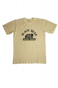 BLACK BEAR  Tシャツ(オフホワイト)<img class='new_mark_img2' src='//img.shop-pro.jp/img/new/icons9.gif' style='border:none;display:inline;margin:0px;padding:0px;width:auto;' />