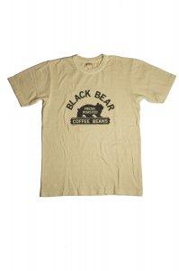 BLACK BEAR  Tシャツ(オフホワイト)