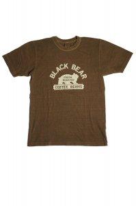 BLACK BEAR  Tシャツ(ブラウン)