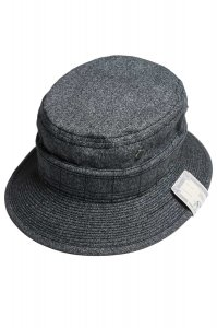 BUSH HAT(GRAY)<img class='new_mark_img2' src='//img.shop-pro.jp/img/new/icons9.gif' style='border:none;display:inline;margin:0px;padding:0px;width:auto;' />