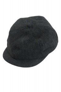 NEWS PAPER CAP(BLACK)