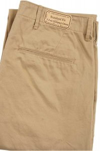 Workers Officer Trousers, Standard Fit, Class 1, 7.3oz Compact Chino