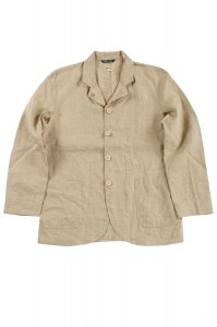 IRISH LINEN CAMDEN JACKET KHAKI<img class='new_mark_img2' src='https://img.shop-pro.jp/img/new/icons9.gif' style='border:none;display:inline;margin:0px;padding:0px;width:auto;' />