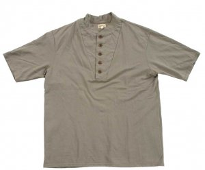 HENLEY ARMY INSPIRATION OLIVE DRAB