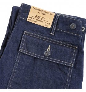 Baker Pants, Slim Fit, 8 oz Denim<img class='new_mark_img2' src='https://img.shop-pro.jp/img/new/icons9.gif' style='border:none;display:inline;margin:0px;padding:0px;width:auto;' />
