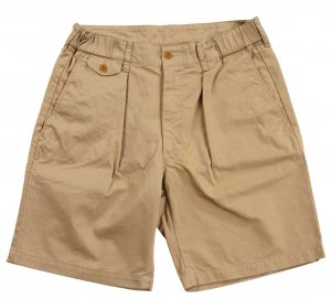 Tack Shorts, 7.3oz Compact Chino Beige