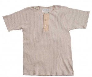 OR-9038 Henry T-Shirt Beige