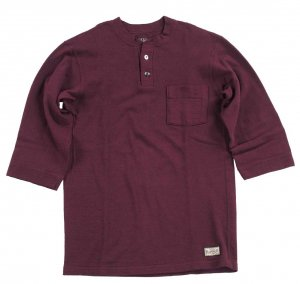 Rail Nit RAIL ROAD KNIT BURGUNDY