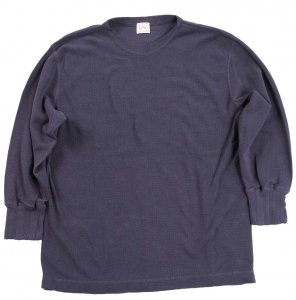LRC1055 COTTON RIB KNIT 3/4 LENGTH ITALIAN ARMY BOATNECK ANTIQUE PURPLE NAVY<img class='new_mark_img2' src='https://img.shop-pro.jp/img/new/icons9.gif' style='border:none;display:inline;margin:0px;padding:0px;width:auto;' />
