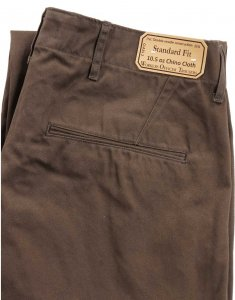 Workers Officer Trousers Standard Fit Type 2 Chacoal Grey Chino