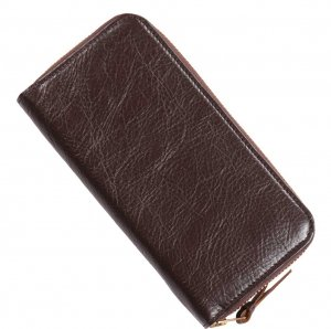 INCEPTION HORSEHIDE ROUND LONG WALLET DARK BROWN<img class='new_mark_img2' src='https://img.shop-pro.jp/img/new/icons9.gif' style='border:none;display:inline;margin:0px;padding:0px;width:auto;' />