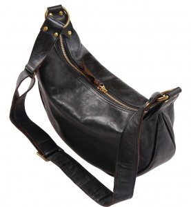 INCEPTION HORSEHIDE BANANA BAG BLACK<img class='new_mark_img2' src='https://img.shop-pro.jp/img/new/icons9.gif' style='border:none;display:inline;margin:0px;padding:0px;width:auto;' />