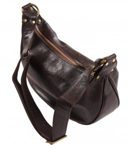 <img class='new_mark_img1' src='https://img.shop-pro.jp/img/new/icons55.gif' style='border:none;display:inline;margin:0px;padding:0px;width:auto;' />INCEPTION HORSEHIDE BANANA BAG DARK BROWN