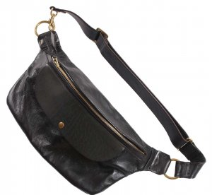 INCEPTION HORSEHIDE BUM BAG BLACK<img class='new_mark_img2' src='https://img.shop-pro.jp/img/new/icons9.gif' style='border:none;display:inline;margin:0px;padding:0px;width:auto;' />
