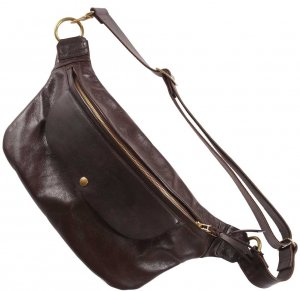 INCEPTION HORSEHIDE BUM BAG DARK BROWN<img class='new_mark_img2' src='https://img.shop-pro.jp/img/new/icons9.gif' style='border:none;display:inline;margin:0px;padding:0px;width:auto;' />