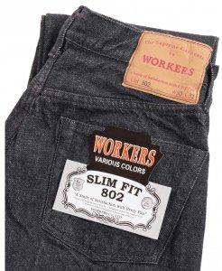 Lot 802 Black Jeans OW