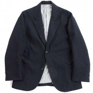 Maple Leaf Jacket, Wool Cotton Serge, Navy