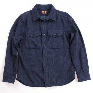 501953 インディゴエクストラヘビーネルシャツ