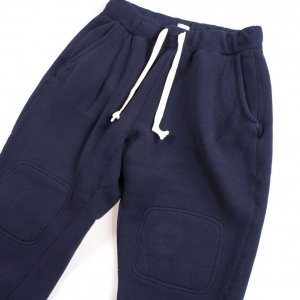 LTP1001 TOMPKINS KNIT DOUBLE KNEE MIRLITARY SWEAT PANTS NAVY<img class='new_mark_img2' src='https://img.shop-pro.jp/img/new/icons9.gif' style='border:none;display:inline;margin:0px;padding:0px;width:auto;' />