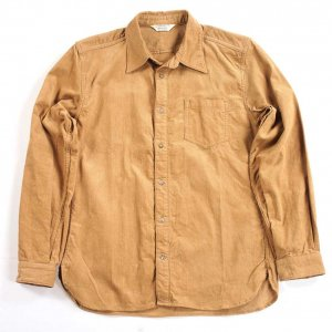 OR-5042B Corduroy Shirt Brown