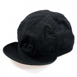 D-00412 RAILROAD CAP 20SS BLACK<img class='new_mark_img2' src='https://img.shop-pro.jp/img/new/icons9.gif' style='border:none;display:inline;margin:0px;padding:0px;width:auto;' />