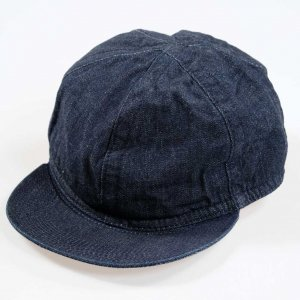 D-00412 RAILROAD CAP 20SS INDIGO<img class='new_mark_img2' src='https://img.shop-pro.jp/img/new/icons9.gif' style='border:none;display:inline;margin:0px;padding:0px;width:auto;' />