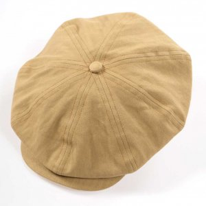 D-00392 PEAKY CAP BEIGE<img class='new_mark_img2' src='https://img.shop-pro.jp/img/new/icons9.gif' style='border:none;display:inline;margin:0px;padding:0px;width:auto;' />