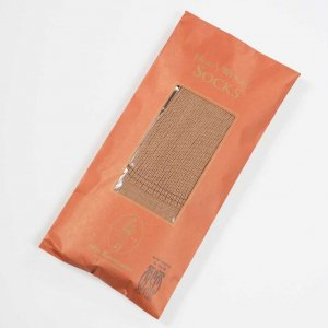 BSC LONG HOSE SOCKS BROWN RIB