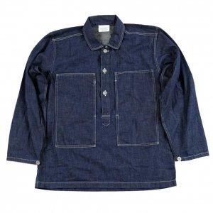 Pullover Shirt, Ref US ARMY, 8 oz Denim