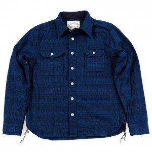 SSS20-01 刺子ワークシャツ