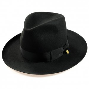 OR-7218 Stetson Orgueil Hat Black