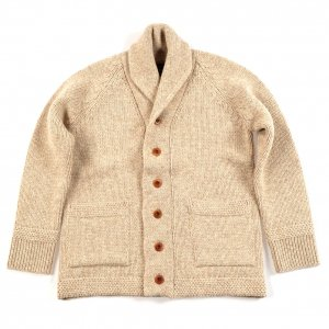 OR-4189 Hand Frame Knit Beige