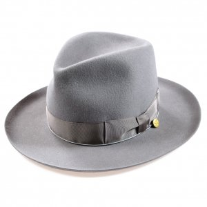 OR-7218 Stetson Orgueil Hat Grey