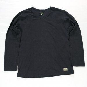 1914LT 30s V-NECK KNIT BL.BLACK<img class='new_mark_img2' src='https://img.shop-pro.jp/img/new/icons9.gif' style='border:none;display:inline;margin:0px;padding:0px;width:auto;' />
