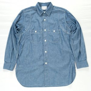 MFG Shirt Vintage Fit Blue Chambray<img class='new_mark_img2' src='https://img.shop-pro.jp/img/new/icons9.gif' style='border:none;display:inline;margin:0px;padding:0px;width:auto;' />