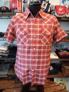 WWS−05  50s CHEACK WESTERN(CORALRED)