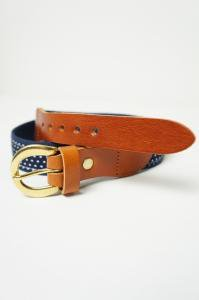 Surcingle belt, Polka Dot
