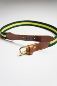 Surcingle Belt Yellow×Green