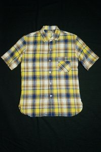 S/S ONE-PIECE COLLAR SHIRT(YELLOW)