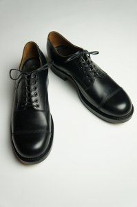 Cap-toe Shoes,Narrow Poc-toe(Annonay Black)
