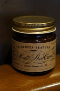 The MAIL's Shoe care Co  Shoe cream