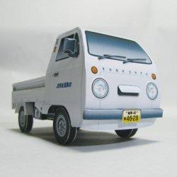 ペーパークラフト 軽トラ 2号車(ダウンロード販売)