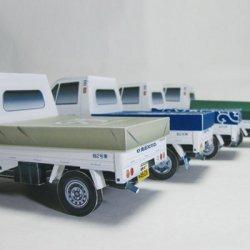 ペーパークラフト 軽トラ 2号車オプション(ダウンロード販売)